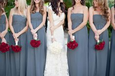 i love the bridesmaids dress style