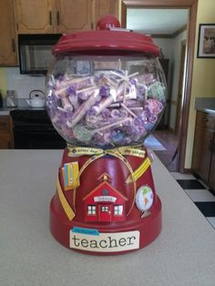Great Teacher's treat jar!