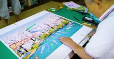 Japanese Man Does Amazing Paintings Using Microsoft Excel