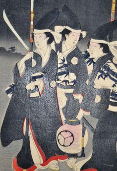 Toyohara Chikanobu - Guard Ladies of the Chiyoda Palace, All Japanese, Japanese Prints, Oriental Design, China Painting, Triptych, Woodblock Print, Print Pictures, Chinese Art, Mafia