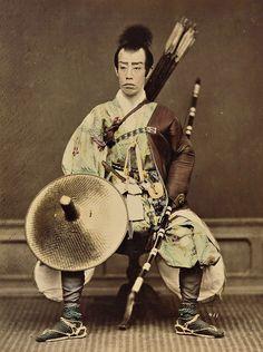 - Danjuro as samurai . 1860-1900 ./tcc/