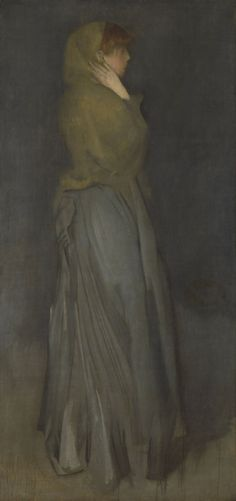 Large (Rijksmuseum)  As with many of James Abbott McNeill Whistler's paintings, Whistler's circa 1876–1878 Arrangement in Yellow and Grey is a work that uses its content in the service of color.  It's a little incongruous, then, that—as the Rijksmuseum...