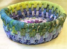No Sew Fabric Bowl