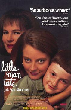 Little Man Tate, directed by Jodie Foster, Starring Jodie Foster, Dianne Wiest and Adam Hann-Byrd (1991)