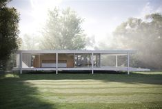 Farnsworth House by Ludwig Mies van der Rohe 2