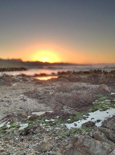 Sunrise in Gaansbaai, South Africa. (Photo A. Some Pictures, My World, South Africa, Cape, Sunrise, African, Mountains, Places, Travel