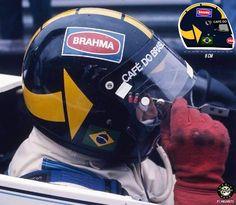 Adesivo José Carlos Pace Capacete F1 Formula 1 Sticker