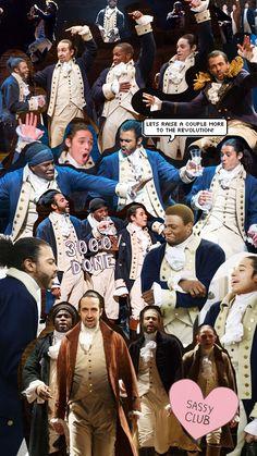 Broadway Backgrounds — Hamilton - iPhone Backgrounds 1-10 // 11 // 12