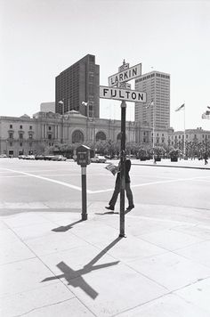Henry Wessel, Civic Center Plaza, San Francisco, California, 1985