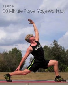 30 Minute Power Yoga Workout