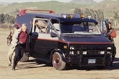 The TV cars we all wanted to drive. Which one of these awesome TV cars did you want to have.Look back at the best TV cars here. George Peppard, Classic Tv, Classic Cars, Film Cars, Movie Cars, The Ateam, A Team Van, Gi Joe, Mejores Series Tv