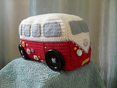 Ravelry: Project Gallery for Campervan Doorstop pattern by Emma Varnam