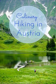 Spend an unforgettable day on a culinary hike in Vorarlberg, Austria where you can walk from one meal to the next through rolling alpine pastures.