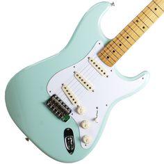 Fender Stratocaster '50s Classic Series Surf Green | Available at Garrett Park Guitars | www.gpguitars.com
