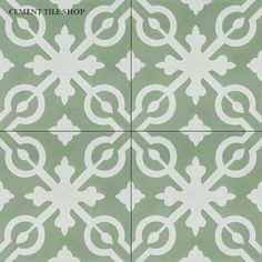 Cement Tile Shop - Encaustic Cement Tile Serena