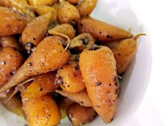 French in a Flash: Quatre Epices Glazed Carrots. #recipe #vegetarian
