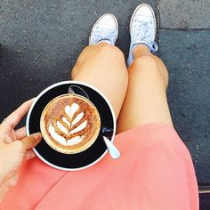 The perfect combo. #coffeenclothes #coffee #clothes