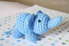 Little Elephant Kawaii Amigurumi doll SELECT COLOR