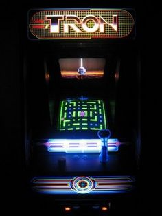 The original Tron cabinet is still one of the most sought after by collectors