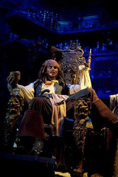 Captain Jack Sparrow - Pirates of the Carribean