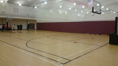 Tarkett Sports Omnisports 6.5 & HPL are featured throughout the 19,000 square foot Rider University Student Recreation Center in Lawrenceville, NJ.
