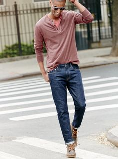 What we do at J.Crew: stretch denim. We were stretch skeptics too until we tried out these new fabrics from some of Japan's best mills. They look exactly like all of our other top-quality denim, so it's up to you if you want to brag about how comfortable they are.