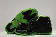 b6fc4125b1c Nike Air Jordan 11 Xi Mens Shoes On Sale Black Green Inexpensive Cheap  Clothing Stores