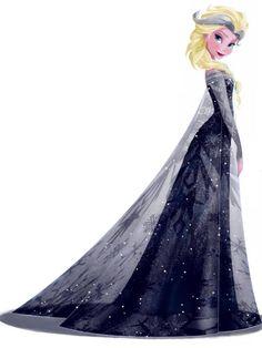Dark Elsa More