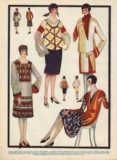 Art of Dressing, Leningrad, 1928