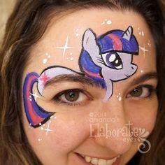Amanda's Elaborate Eyes-Twilight Sparkle