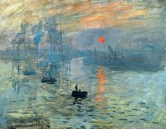 Indruk, Zonsopgang door Claude Monet