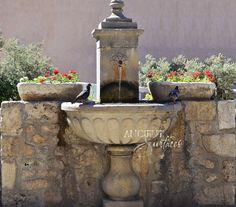 Page One of our Antique Limestone Wall Fountains salvaged and ...