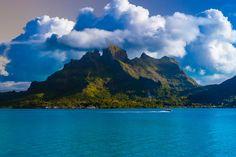 Mount Otemanu, Bora Bora, French Polynesia ✯ ωнιмѕу ѕαη∂у