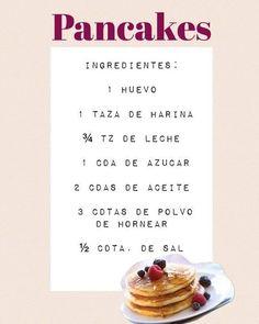RECETA DE PANCAKES! Words, Hot, Instagram Posts, Mugs, Recipes, Milkshakes, Eggs, Horse