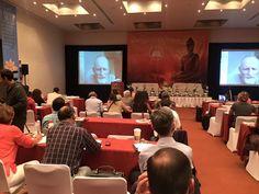 """""""La felicidad y el arte de Ser""""  Michael James. Ramana Maharshi Foundation, UK. Conferencia en vivo desde Inglaterra."""