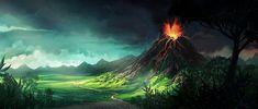 volcano by CrackBag.deviantart.com on @deviantART