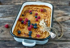 Uuniohrapuuro Oatmeal, Favorite Recipes, Breakfast, Traditional, Food, The Oatmeal, Morning Coffee, Rolled Oats, Essen