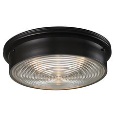 Fresnel Glass Industrial Flush Mount Ceiling Light En 2018