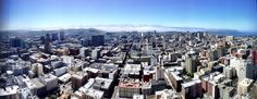 View of SF from my room at the Hilton.