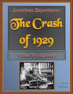 The end of October brings more than just trick-or-treating; it's also the anniversary of the huge stock market crash that ushered in the Great Depression. Take students through the Roaring 20s and down to earth with this Wall Street Crash worksheet targeted to go with the American Experience episode.