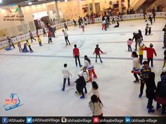 We have the largest #Skate rink in #Sharjah. .. Skate with us and enjoy the unstoppable fun. .. #UAE #Fun #Skating #SkateGate  #AlShaabVillage