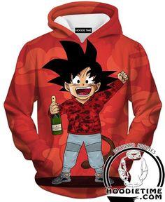 7f54bdc61a2 Dragon Ball Z Sweaters - Kid Goku Cosplay Bape Sweatshirt - DBZ Clothing