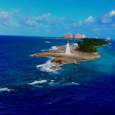 Lighthouse at Nassau, Bahamas
