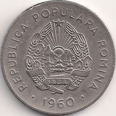 Motivseite: Münze-Europa-Südosteuropa-Rumänien-Leu-0.25-1960