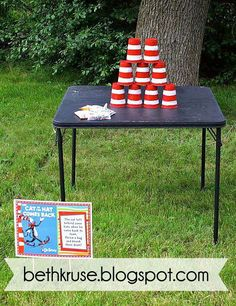 Dr. Seuss Birthday Party Ideas | Photo 27 of 48 | Catch My Party
