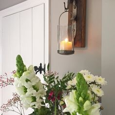 Purbeck Stone Purbeck Stone, Candle Sconces, Wall Lights, Cottage, Candles, Lighting, Kitchen, House, Ideas