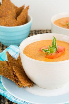5-Minute+Vegan+Cream+of+Tomato+Soup