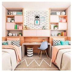 23 Ideas Small Kids Room Ideas For Boys Quartos Diy Home Decor On A Budget, Cheap Home Decor, Small Room Bedroom, Bedroom Colors, Bedroom Girls, Trendy Bedroom, Girls Bedroom Furniture, Bedroom Decor, Diy Furniture