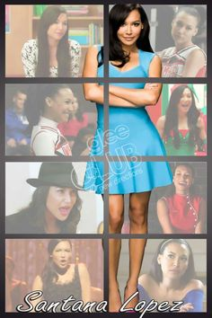 #SantanaLopez #Glee #NayaRivera