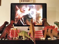 Have you heard about Dinovember? Dinosaurs come alive at night in November...